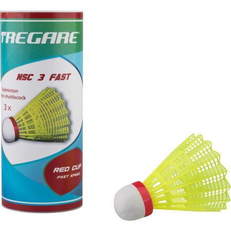 Tregare NSCW 3 FAST YELLOW - Badmintonové míčky
