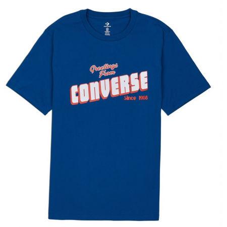 Pánské tričko - Converse GREETINGS SS TEE