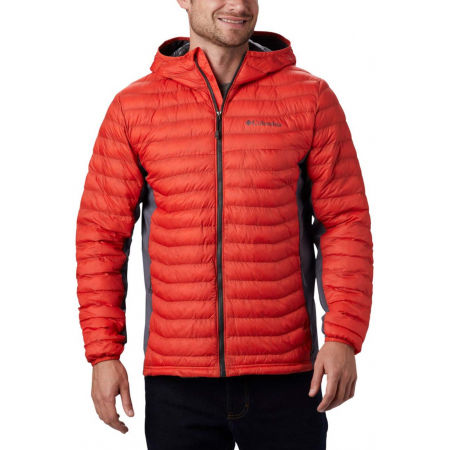 Columbia POWDER PASS HOODED JACKET - Pánská hybridní bunda