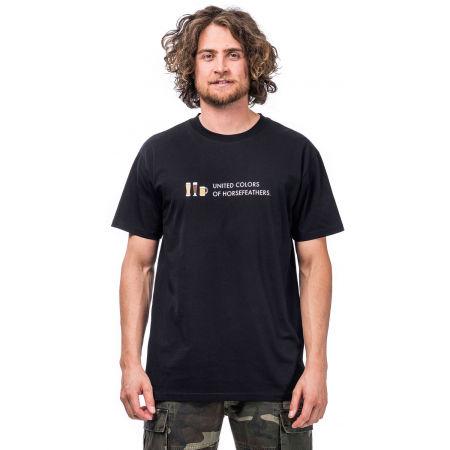 Pánské tričko - Horsefeathers UNITED COLORS T-SHIRT - 1