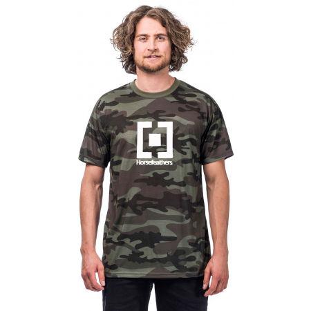 Pánské tričko - Horsefeathers BASE T-SHIRT - 1
