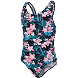 Speedo JUNGLEGLOW ALLOVER SPLASHBACK - Dívčí jednodílné plavky