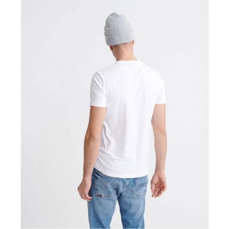 Pánské tričko - Superdry VL CROSS HATCH TEE - 2