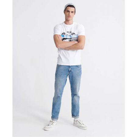 Pánské tričko - Superdry VL CROSS HATCH TEE - 5