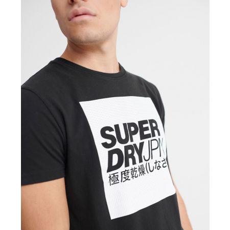 Pánské tričko - Superdry JPN BLOCK TEE - 3
