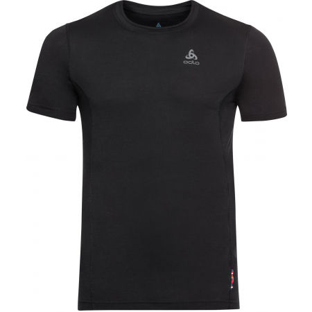 Odlo SUW MEN'S TOP CREW NECK S/S NATURAL+ LIGHT - Pánské tričko