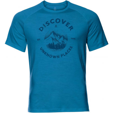 Odlo MEN'S T-SHIRT S/S CREW NECK CONCORD - Pánské tričko