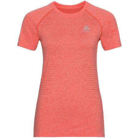 Dámské tričko - Odlo WOMEN'S T-SHIRT CREW NECK S/S SEAMLESS ELEMENT - 1