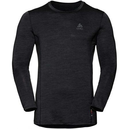Pánské tričko - Odlo SUW MEN'S TOP CREW NECK L/S NATURAL+ LIGHT - 1