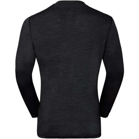 Pánské tričko - Odlo SUW MEN'S TOP CREW NECK L/S NATURAL+ LIGHT - 2
