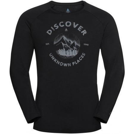 Odlo MEN'S T-SHIRT L/S CREW NECK CONCORD - Pánské tričko