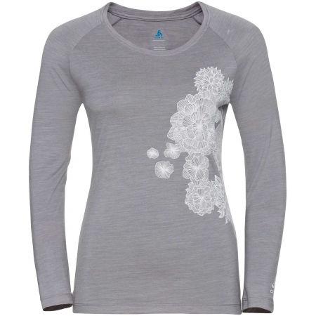 Dámské tričko - Odlo WOMEN'S T-SHIRT CREW NECK L/S CONCORD