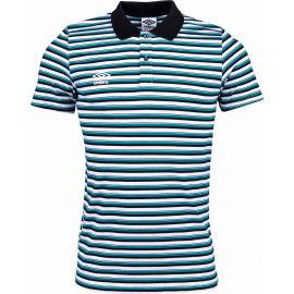 Umbro STRIPE COTTON POLO - Pánské polo triko