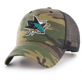 47 NHL SAN JOSE SHARKS CAMO BRANSON 47 MVP - Kšiltovka