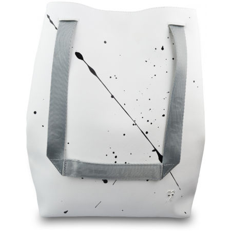 Dámský batoh - XISS SPLASHED WHITE CITY - 3