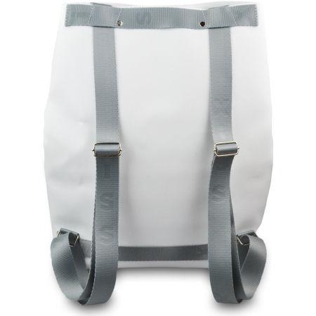 Dámský batoh - XISS SPLASHED WHITE CITY - 4