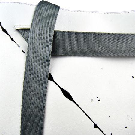 Dámský batoh - XISS SPLASHED WHITE CITY - 6
