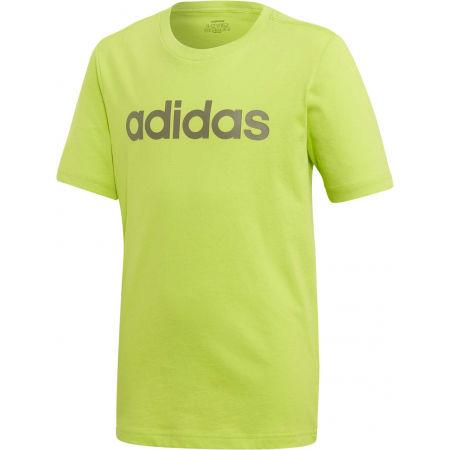 Chlapecké triko - adidas YB E LIN TEE - 1