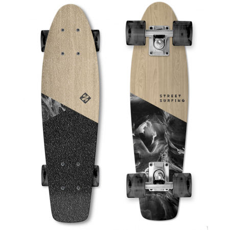 Longboard - Street Surfing BEACH BOARD WOOD DIMENSION