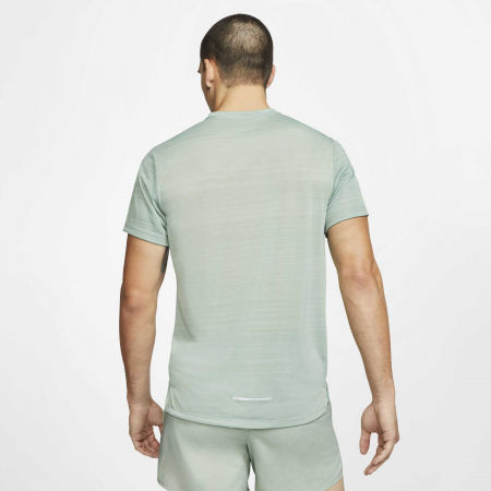 Pánské běžecké tričko - Nike DRY MILER TOP SS M - 4