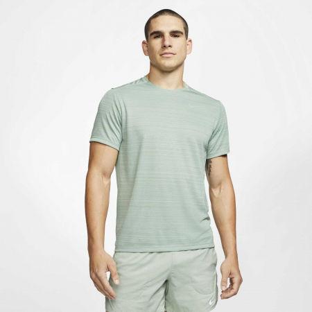 Pánské běžecké tričko - Nike DRY MILER TOP SS M - 3
