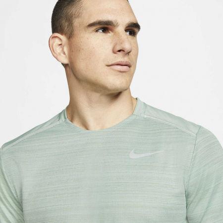 Pánské běžecké tričko - Nike DRY MILER TOP SS M - 6