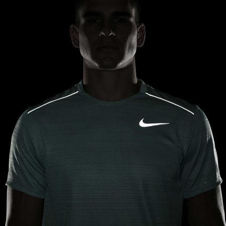 Pánské běžecké tričko - Nike DRY MILER TOP SS M - 8
