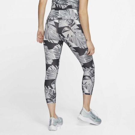 Dámské běžecké legíny - Nike FAST CROP RUNWAY PR HR W - 4