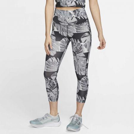 Dámské běžecké legíny - Nike FAST CROP RUNWAY PR HR W - 3