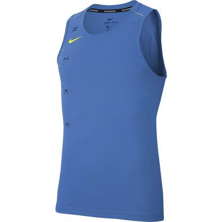 Nike DRY MILER TANK TECH GX FF M - Pánský běžecký top