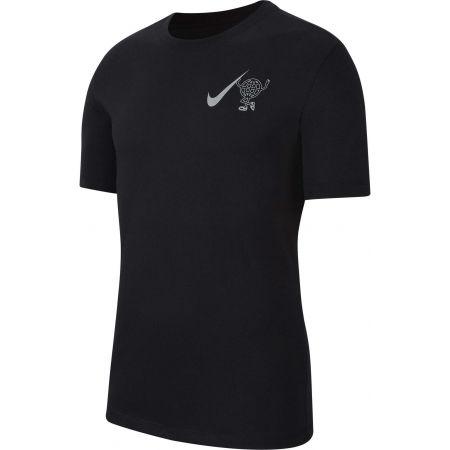Nike DRY TEE WILD RUN GLOBEY M - Pánské běžecké tričko