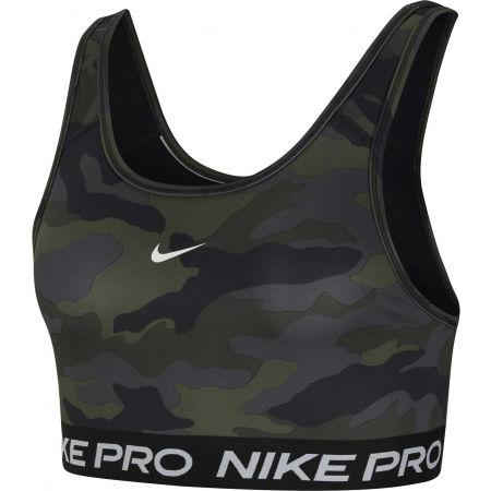 Dámská sportovní podprsenka - Nike SWOOSH BRA CAMO PRT - 1