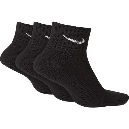 3PPK VALUE COTTON QUARTER - Tréninkové ponožky - Nike 3PPK VALUE COTTON QUARTER - 2