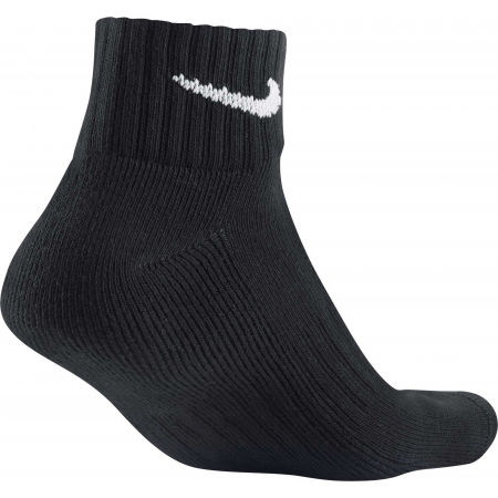 3PPK VALUE COTTON QUARTER - Tréninkové ponožky - Nike 3PPK VALUE COTTON QUARTER - 4