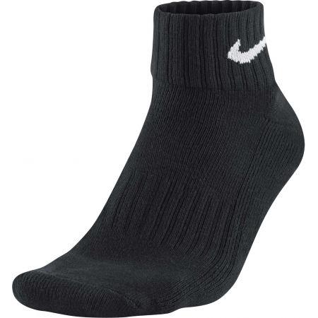 3PPK VALUE COTTON QUARTER - Tréninkové ponožky - Nike 3PPK VALUE COTTON QUARTER - 3