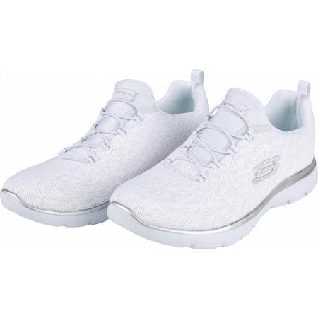 Dámské tenisky - Skechers SUMMITS LEOPARD SPOT - 2