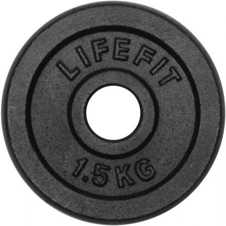 Lifefit KOTOUC 1,5KG 30MM - Nakládací kotouč