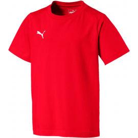 Puma LIGA CASUALS TEE JR - Chlapecké triko