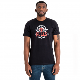 New Era NBA LEAGUE NET LOGO TEE CHICAGO BULLS