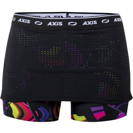 Dívčí fitness šortky se sukní 2 v 1 - Axis FITNESS SKIRT/SHORTS 2IN1 GIRL - 1