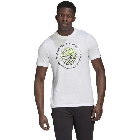 Pánské tričko - adidas M HYPRRL SLGN T - 4
