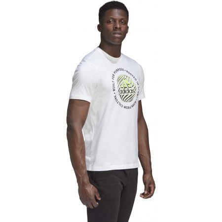 Pánské tričko - adidas M HYPRRL SLGN T - 6
