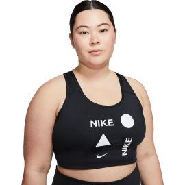 Nike SWOOSH ICNCLSH PLUS BRA - Dámská sportovní podprsenka plus size