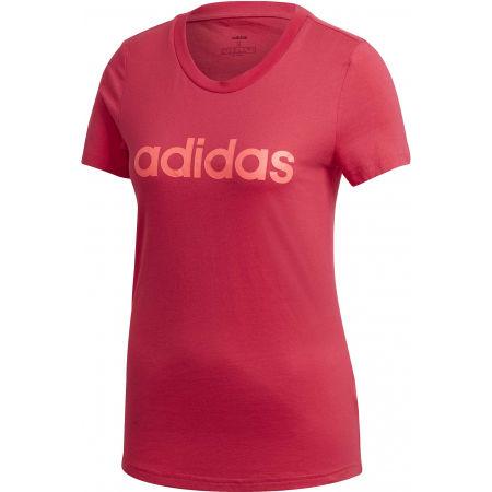 adidas E LIN SLIM TEE - Dámské tričko