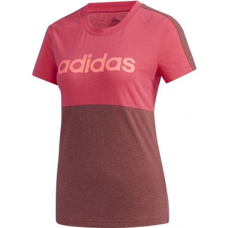 Dámské tričko - adidas E CB T-SHIRT - 1