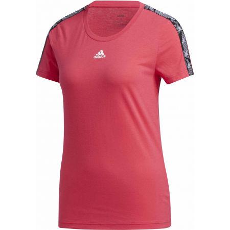 Dámské tričko - adidas WOMENS ESSENTIALS TAPE TEE - 1