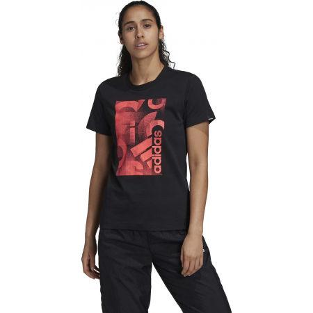 Dámské tričko - adidas UNLEASH CONFIDENCE GRAPHIC TEE - 4