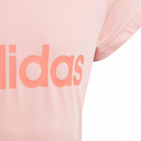 Dívčí triko - adidas YG LINEAR TEE - 4