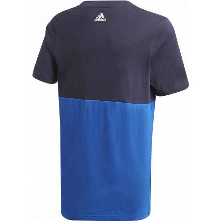 Juniorské triko - adidas YB LINEAR COLORBLOCK TEE - 2