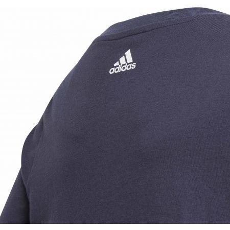 Juniorské triko - adidas YB LINEAR COLORBLOCK TEE - 4